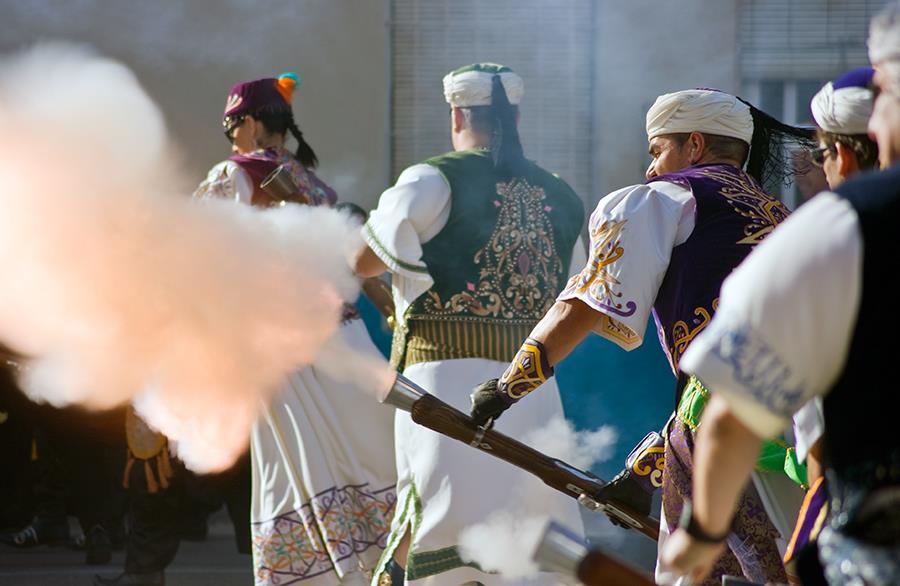 Origen de las fiestas de moros y cristianos en Caudete