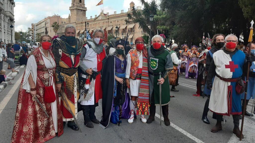 El 9 d'octubre llenó de Fiesta las calles de Valencia! Con polémica…
